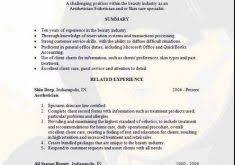 Aesthetician Resume Samples by Smartness Ideas Esthetician Resume 9 Aesthetician Resume