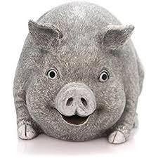 agirlgle animal garden statue pig