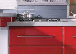 tranditional chinese red modern kitchen cabinets closeout