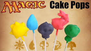 diy magic the gathering cake pops how to make mtg cake pops