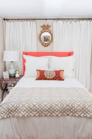 Small Bedroom Window Curtains Best 25 Curtains Behind Bed Ideas Only On Pinterest Curtain