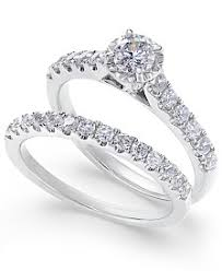 engagement sets bridal set womens engagement and wedding rings macy s