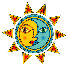 sun and moon clipart collection 53