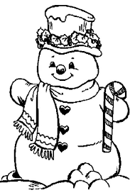 candy cane coloring pages snowman coloringstar