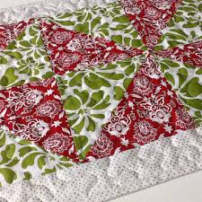 Modern Table Runners Best Quilted Christmas Table Runner Products On Wanelo
