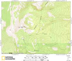 Bitterroot Mountains Map Top Five Fall Hikes In Western Montana U2013 Last Best Secrets