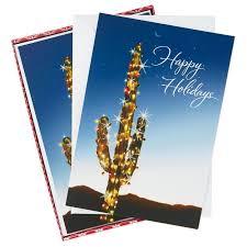 holiday cactus christmas cards box of 16 boxed cards hallmark