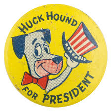 the huckleberry hound show huck hound for president busy beaver button museum