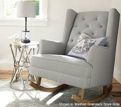 Gray Rocking Chair For Nursery Nursery Rocking Chair For Added Comfort Furniture And Decors