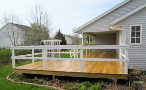 l shaped house with porch sunny l shaped deck new prairie construction