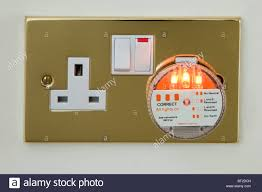 uk electric wall socket tester plug checking mains electricity