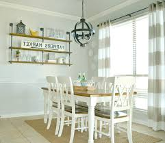 Skirted Parsons Chairs Dining Room Furniture Display Shelf Ideas Chic Wall Utensil Hook White Finished Wooden
