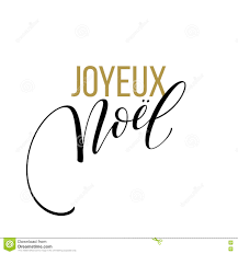 merry christmas card template french language