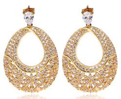 beautiful ear rings beautiful gold earrings designs pak