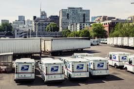 postal vehicles the postal service is working toward autonomous mail delivery