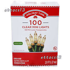 clear christmas lights ebay