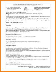 physician assistant resume examples new grad sample objective for resume physician resume samples uva career sample objective for resume physician physician assistant student sample simple admin resume physician assistant student sample