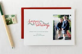 Seasonal Stationery Holiday Photo Cards