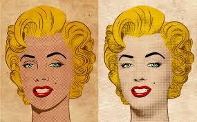 roy lichtenstein vector how to create a portrait in the pop style in adobe illustrator