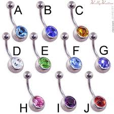 ball belly rings images Belly button ring with large bottom jeweled ball jpg