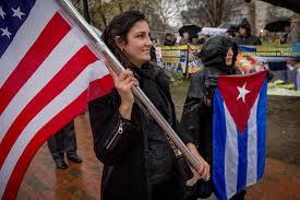 Cuban Flag Images A Castro Legacy Cuban Americans U0027 Hefty Clout In U S Politics