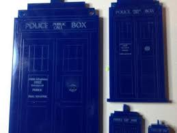 tardis tree ornament for a laser cutter by tardis in a teacup