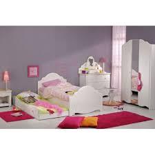 chambre enfants complete chambre enfant complète 90 190 blanc bois andrea univers chambre