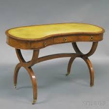 Kidney Shaped Writing Desk Search All Lots Skinner Auctioneers