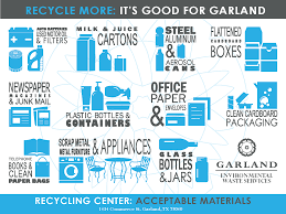 garland texas drop off recycling center