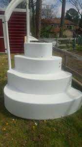 wedding cake pool steps great classic pool wedding cake steps heritage wedding cake steps