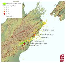 Us Geological Earthquake Map This Stunning Map Shows That Six Faults U2013 At Least Six U2013 Ruptured