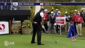 phil mickelson makes birdie at the safeway open golf gods