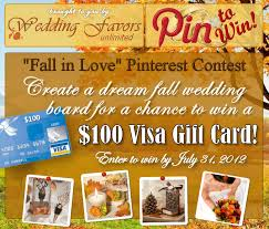 wedding favors unlimited fall in contest by wedding favors unlimited