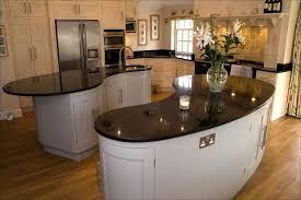 hand painted kitchen islands countertops backsplash curvey quartz kitchen island hand painted