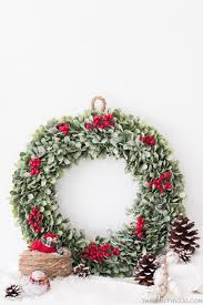 Homemade Christmas Wreaths by Diy Christmas Wreath