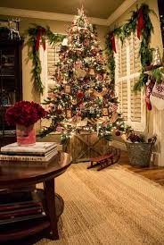 Christmas Decorations For Homes Best 25 Rustic Christmas Trees Ideas On Pinterest Rustic