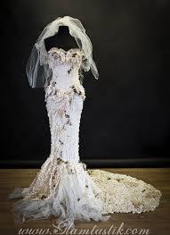 burlesque wedding dresses custom size ivory burlesque corset mermaid style