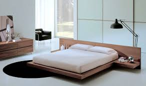 Modern Wooden Bed Frames Excellent Solid Wood Beds Fusion Bed With Upholstered Headboard In