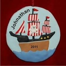 pirate ship ornament personal creations gifts