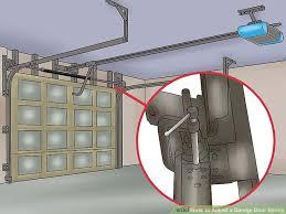 How To Adjust A Craftsman Garage Door Opener by Garage Door Adjustment With Liftmaster Garage Door Opener For
