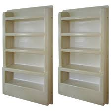 Kitchen Shelving Units by Plastic Wall Mounted Shelving Unit For Kitchen Ingredients