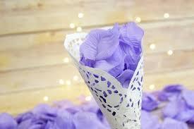 Silk Rose Petals Lavender Silk Rose Petals Confetti For Weddings In Bulk From