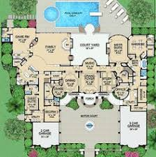 large luxury house plans plan 36183tx palatial estate of your own country house