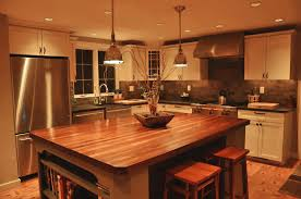 kitchen island wood countertop custom mahogany wood kitchen countertop in blue bell pa