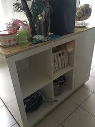 cuisine bois massif ikea table bois massif ikea table langer en bois naturel pour commode