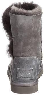 ugg australia sale grau amazon com ugg s bailey button bling winter boot mid calf