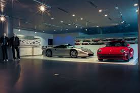 porsche showroom launch event one of the largest porsche centres in the world