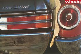 ford falcon tail lights 1978 ford xc falcon goes back in time