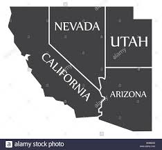 Map Of Nevada And Utah by California Utah Map California Map