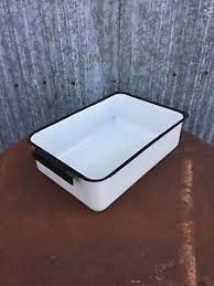 vtg hoosier cabinet desk refrigerator porcelain enamel drawer